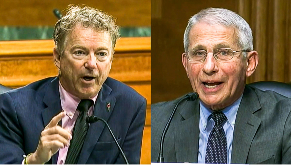 'Completely incorrect': Rand Paul gets obliterated after accusing Fauci of helping to 'juice up' viruses
