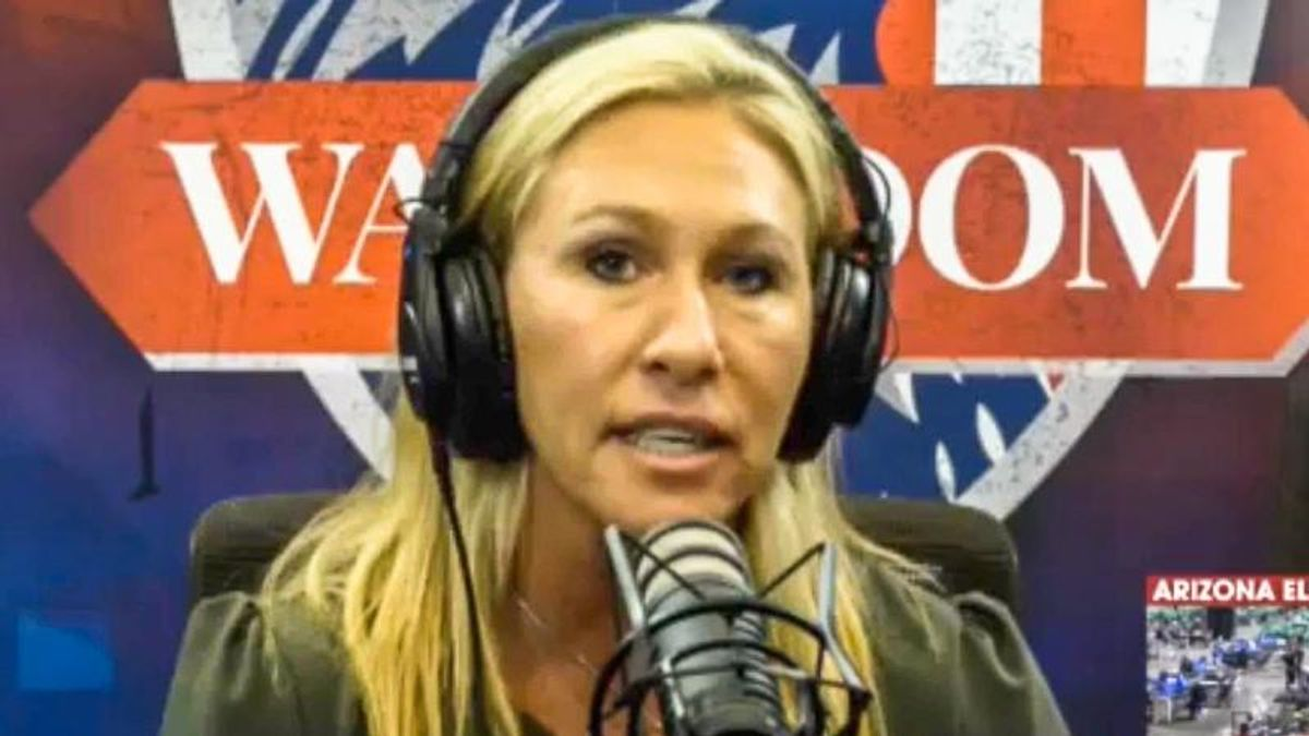 'Stop the vaccines': Marjorie Taylor Greene rant against Liz Cheney veers into anti-vaxx screed