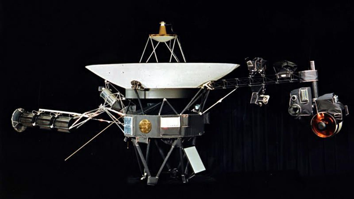 The Voyager 1 probe is now so far away that it can hear the background 'hum' of interstellar space