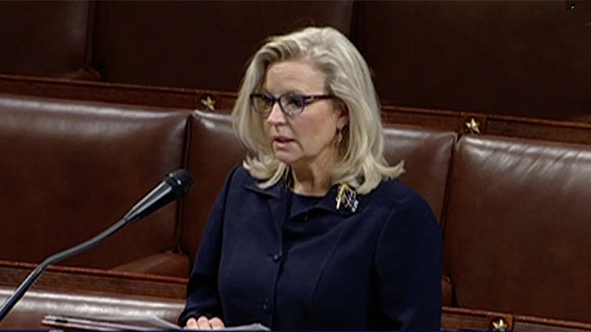 Liz Cheney takes to House floor to hammer Republicans that Trump's election lies 'embolden the liar'