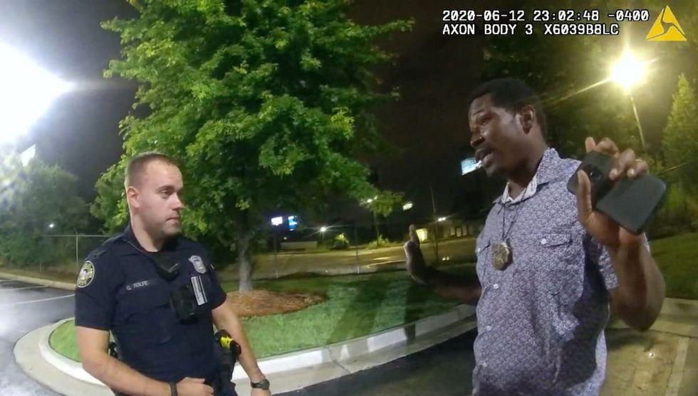 Atlanta officer broke man's collarbone weeks before shooting Rayshard Brooks: lawsuit