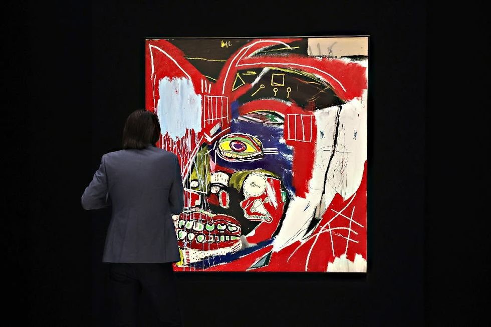 Basquiat painting sells in New York for $93.1 million