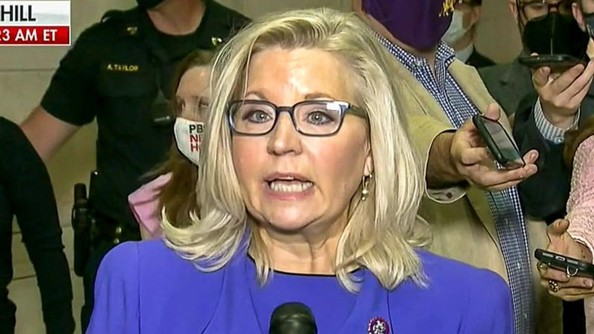'Never again': Liz Cheney spits fire at Trump's 2024 re-election after she's ousted from GOP leadership