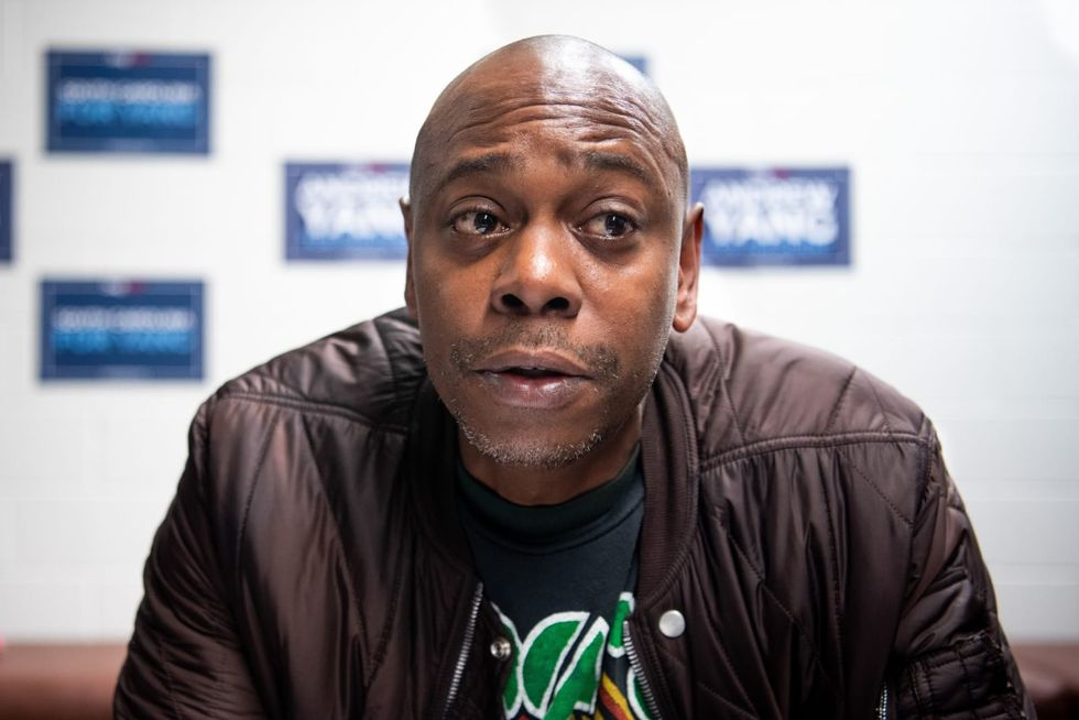 Dave Chappelle reveals he 'used to buy weed' off Idris Elba