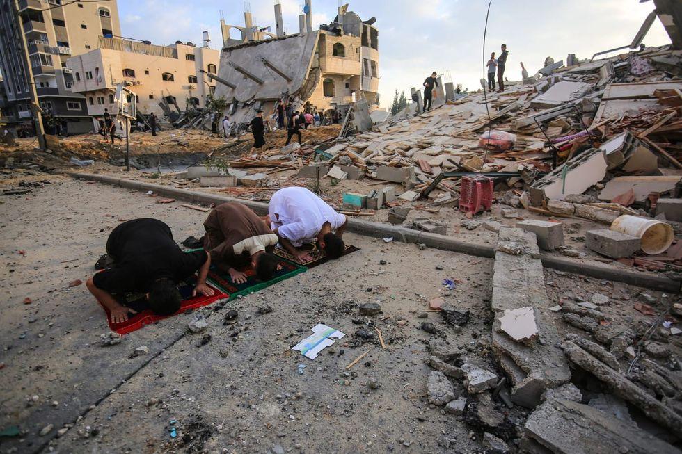 Israeli military says it has struck Hamas intelligence compound