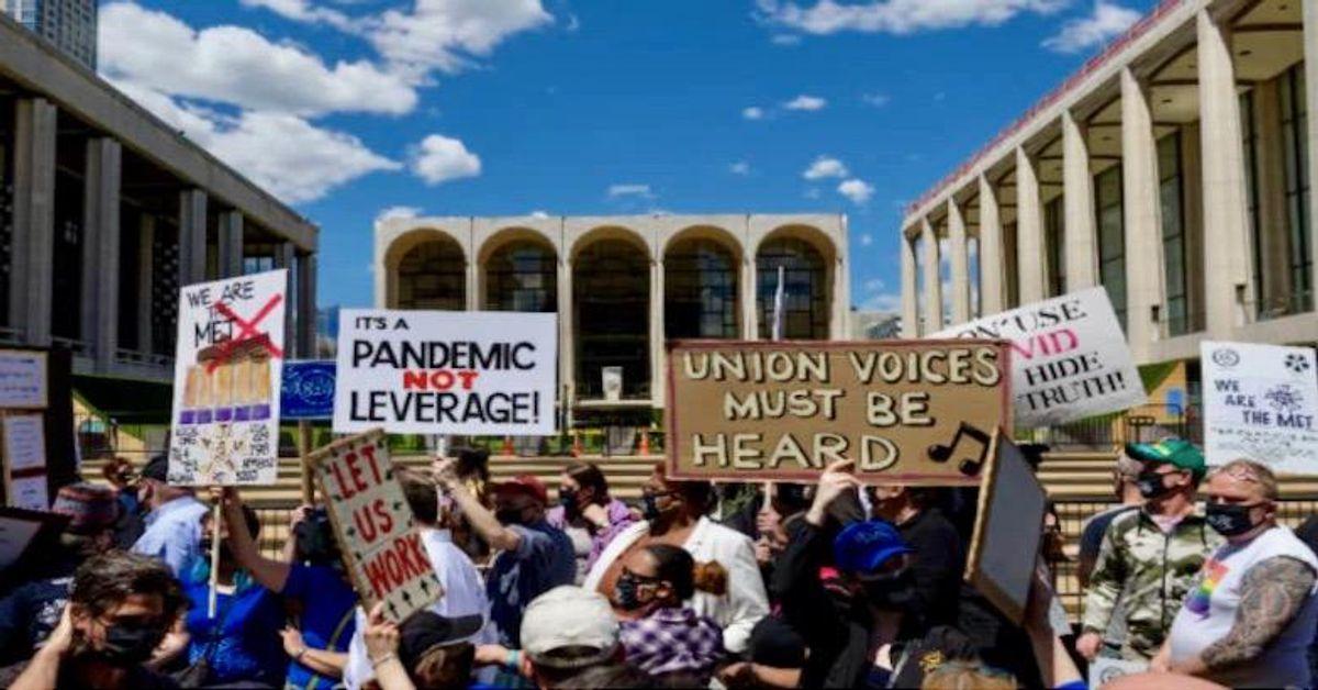 'We are the Met': Labor tensions flare at prestigious New York opera