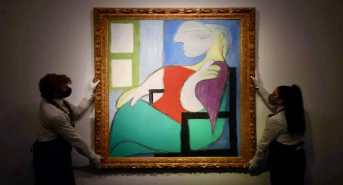 Picasso painting sells for $103 million in New York