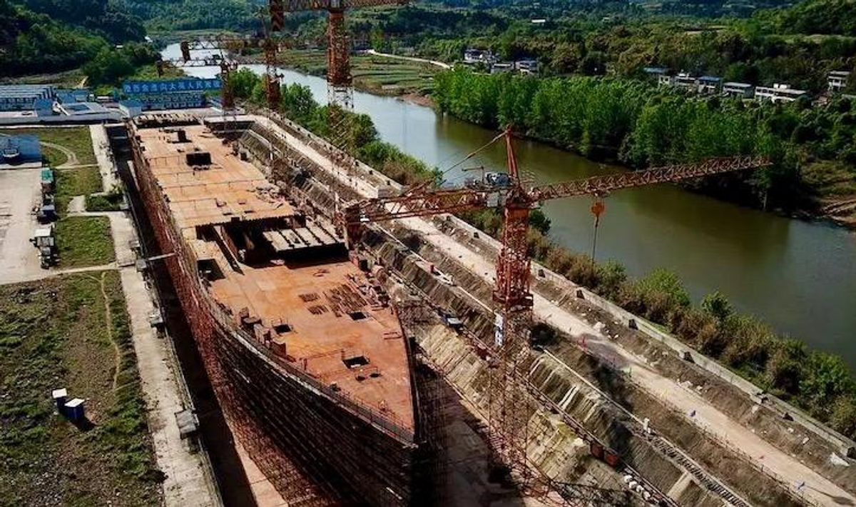 Huge Titanic replica to open as Chinese tourist destination