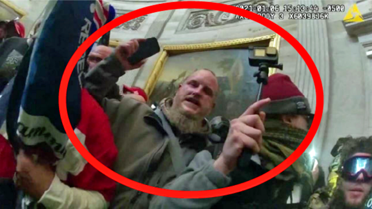 Capitol rioter's journal: From 'Go Fund Me' to 'don't touch me' to 'don't tag me'