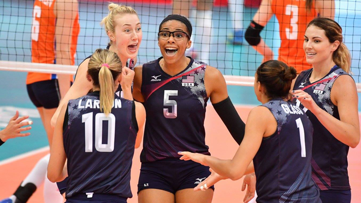 USA Volleyball called out for banning breastfeeding coach — in violation of the law