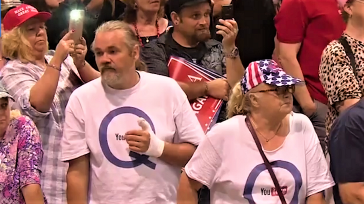 QAnon power struggle gets ugly as 'grifter influencers' lose control and brazen anti-Semites take over: reporter