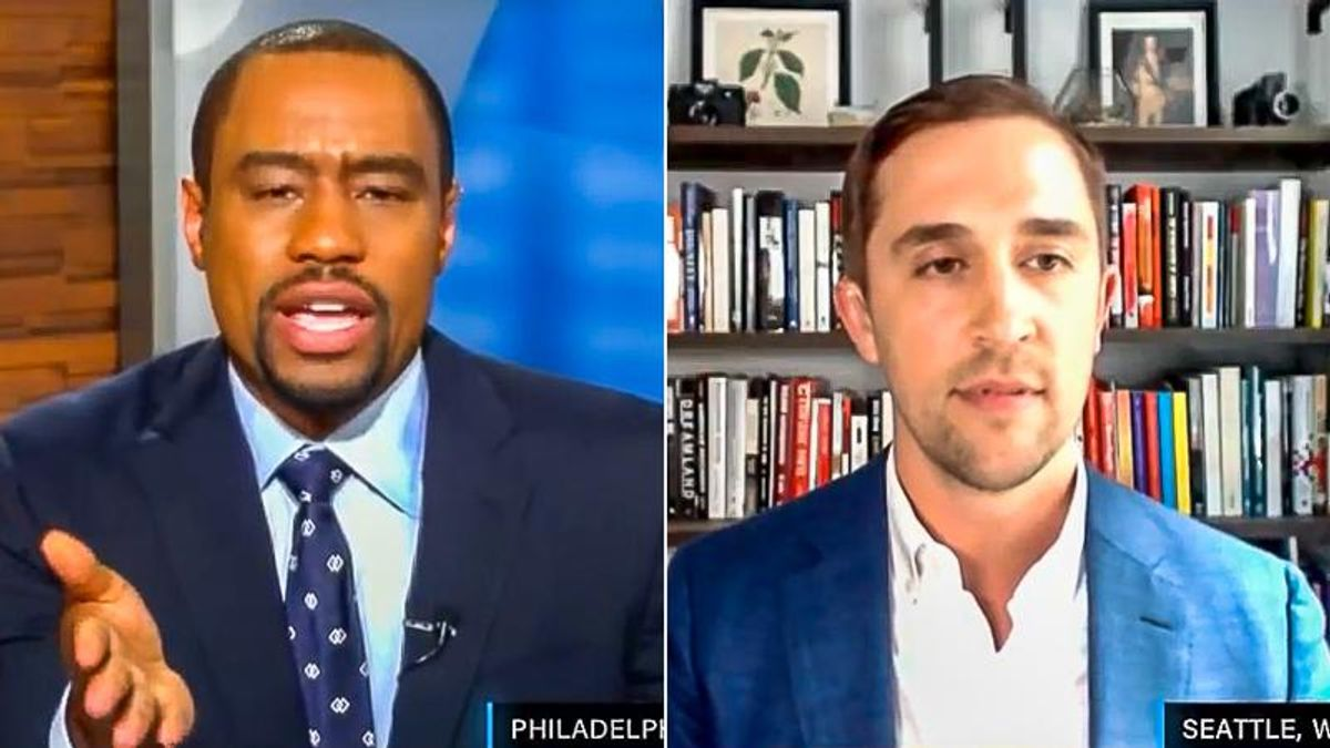 Black TV host trips up opponent of critical race theory: 'What do you like about being white?'
