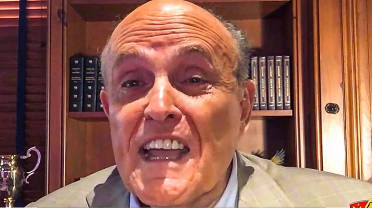 'It should be illegal': Rudy Giuliani blows up at Manhattan D.A. over investigation into Trump