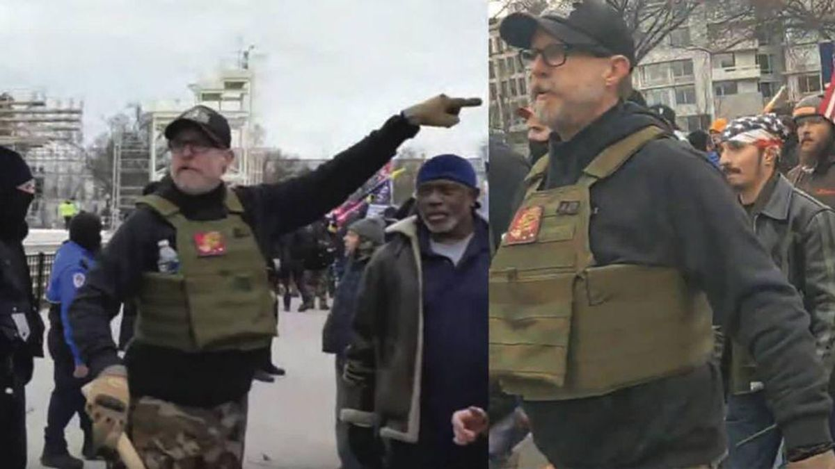 Proud Boy rioter asks to be let out of jail so his disability payouts won't dry up