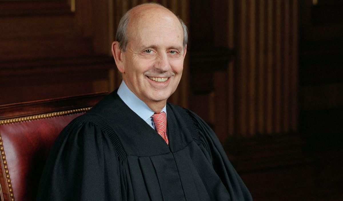 Justice Stephen Breyer urged to quit his day job after absurd political pundit analysis of Republicans