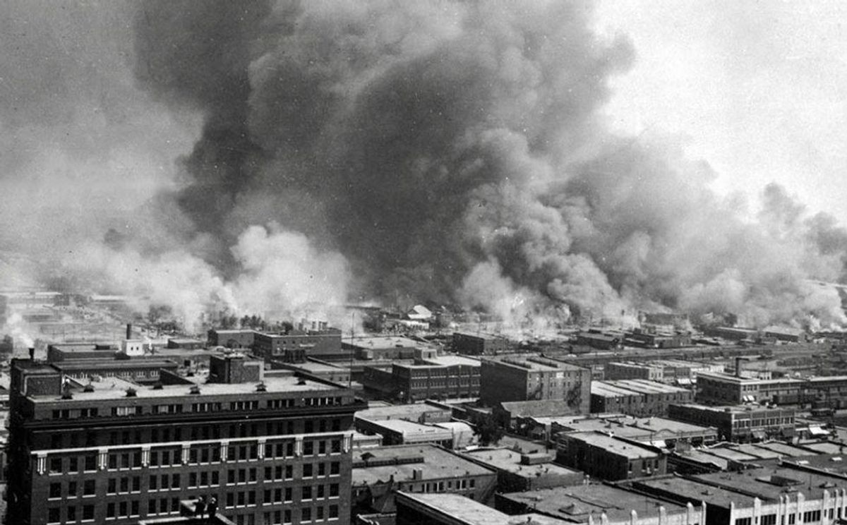 When a white mob destroyed 'Black Wall Street'
