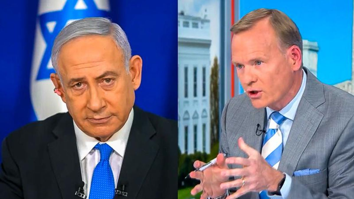 CBS host confronts Israel's Netanyahu: Are you killing Palestinians as a plot 'to stay in power'?