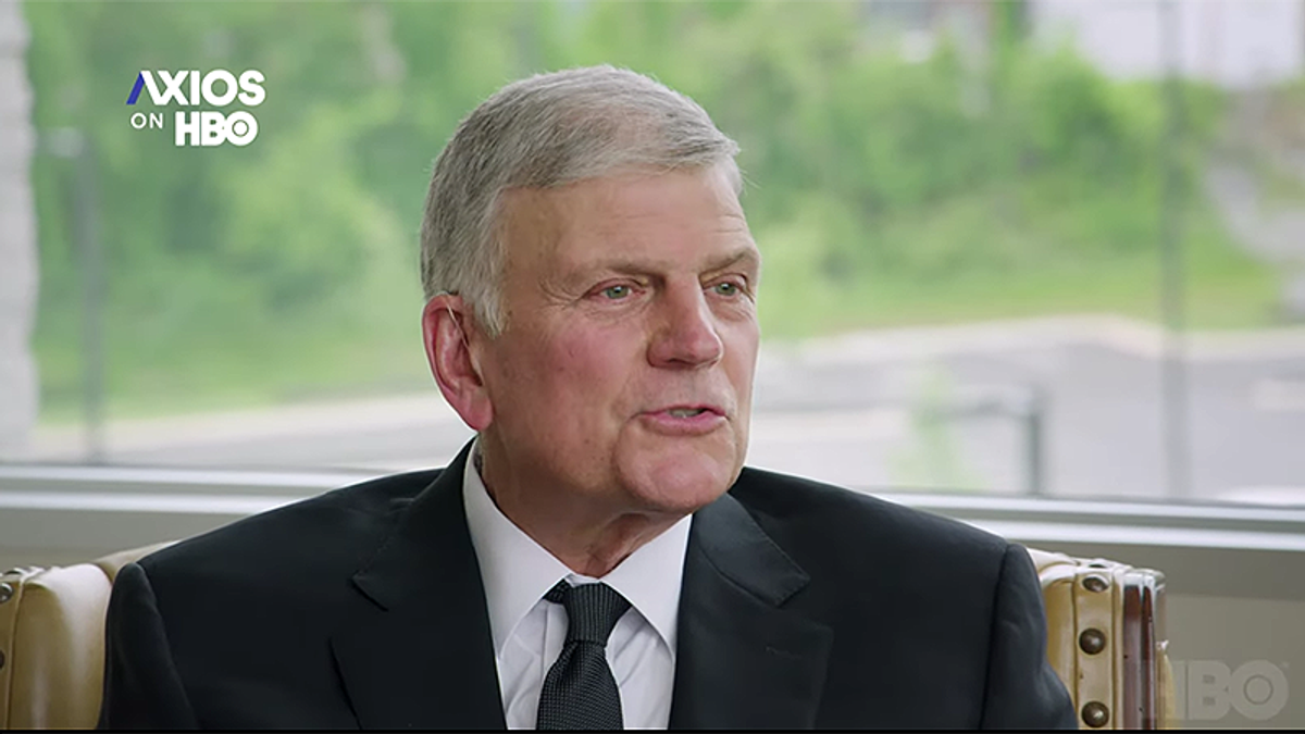 Franklin Graham: Trump shouldn't run in 2024 because he'll be 'old'