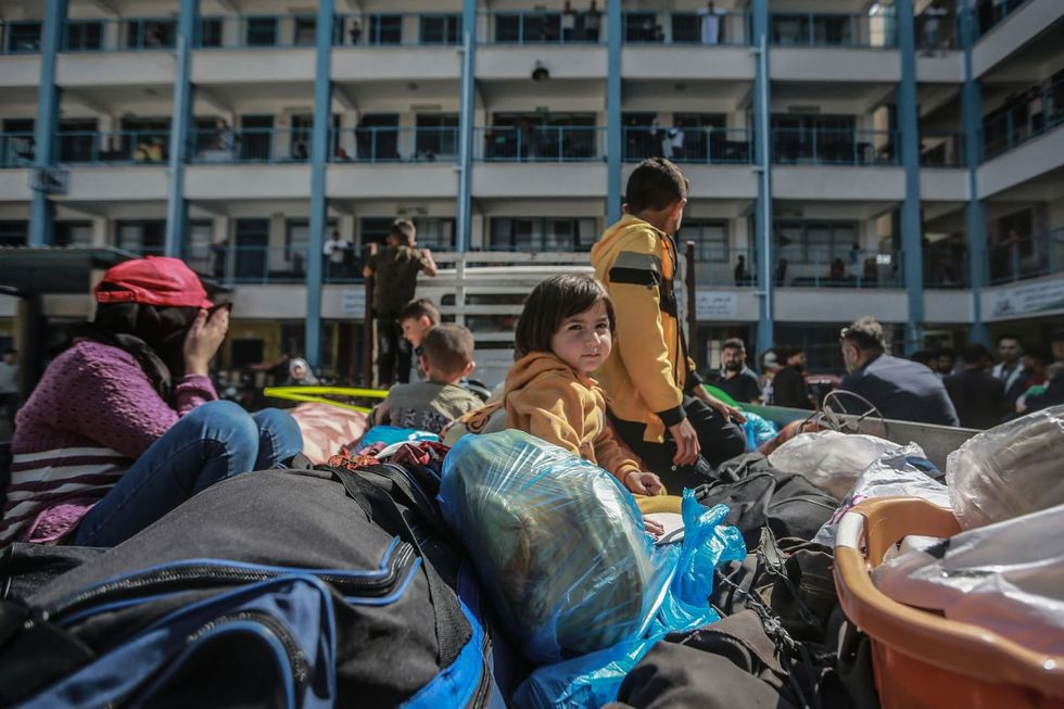 UN agency: 42,000 Palestinians in Gaza have left their homes