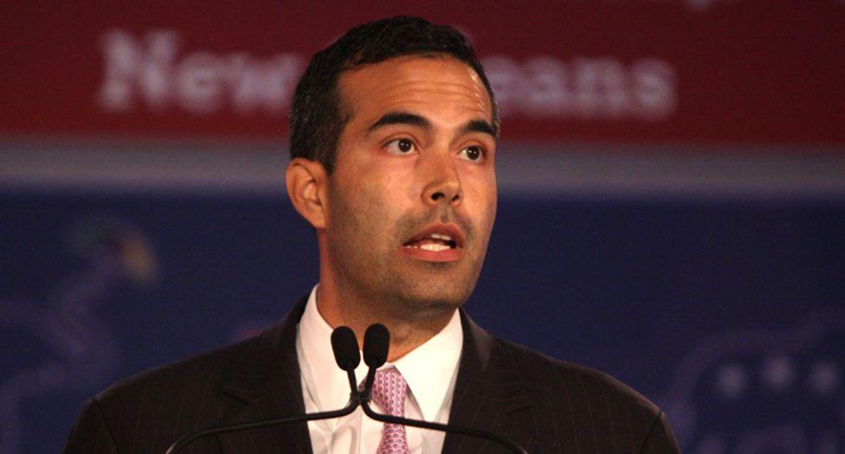 George P. Bush wants to challenge beleaguered Texas AG Ken Paxton -- but can he keep Trump out of it?