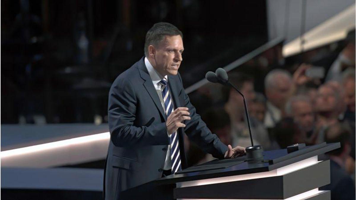 Trump-backer Peter Thiel emerges as a key player in 2022 Senate battles