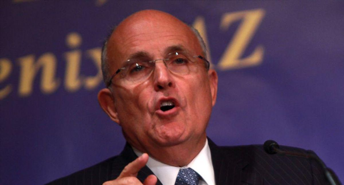 Rudy Giuliani's court documents are a mess: legal analysts