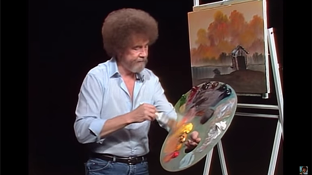 The bizarre story of how Bob Ross' ghost ended up in a lawsuit