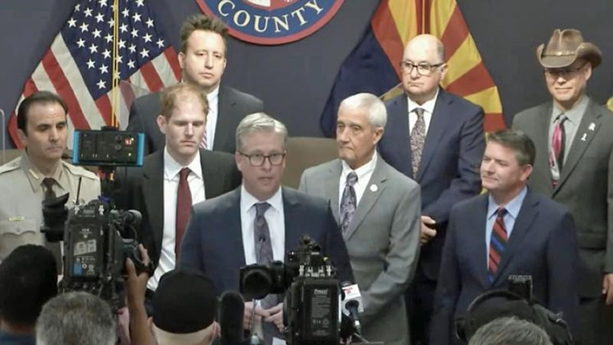 'Ineptitude': Arizona county destroys top GOP official's recount company as 'grifters and con-artists'