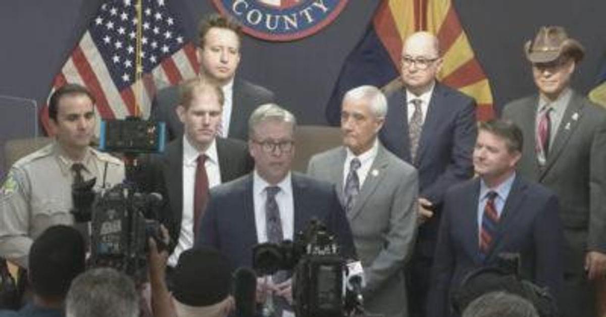 'Grifters and con-artists': Maricopa County destroys top AZ GOP senator's recount company