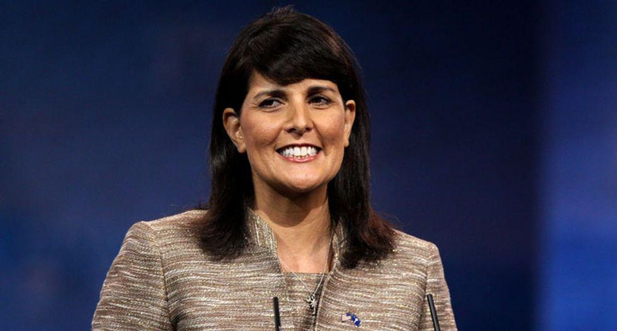 Nikki Haley cashes in on Israel's Gaza conflict with shady fundraising letter