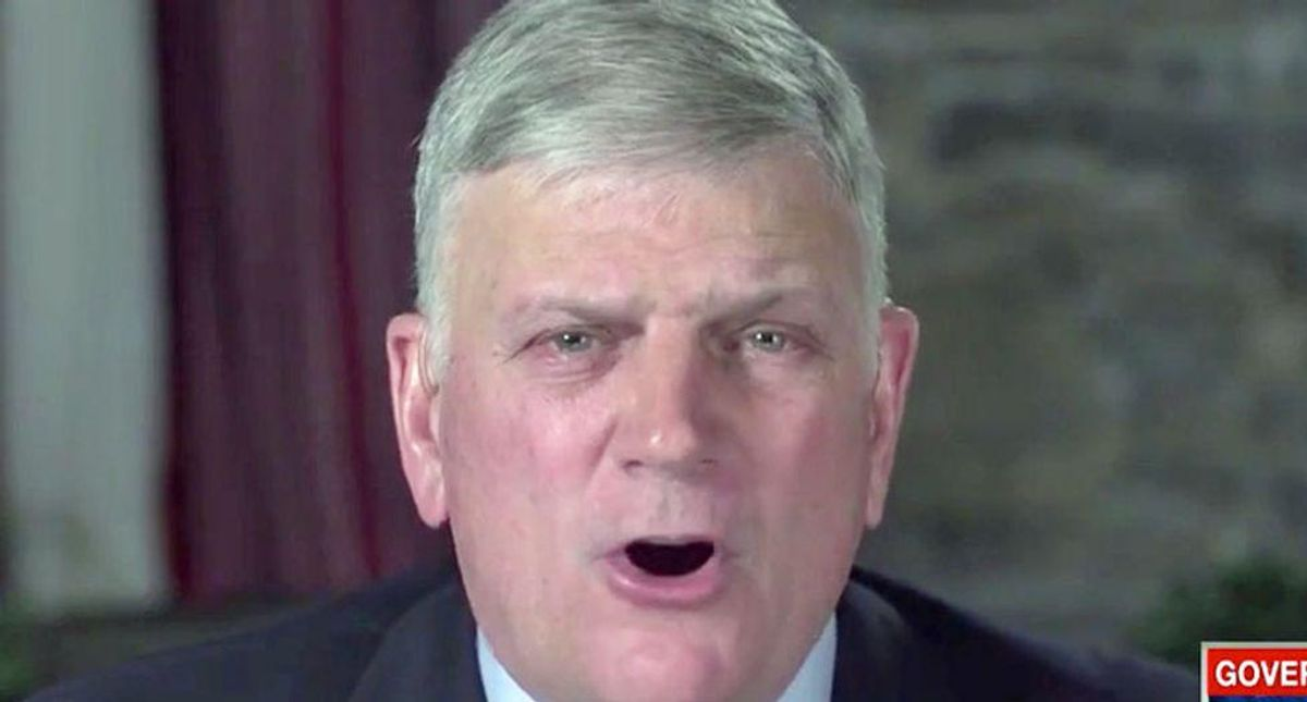 WATCH: Franklin Graham pummeled on CNN as he refuses to say whether 2020 election was legitimate