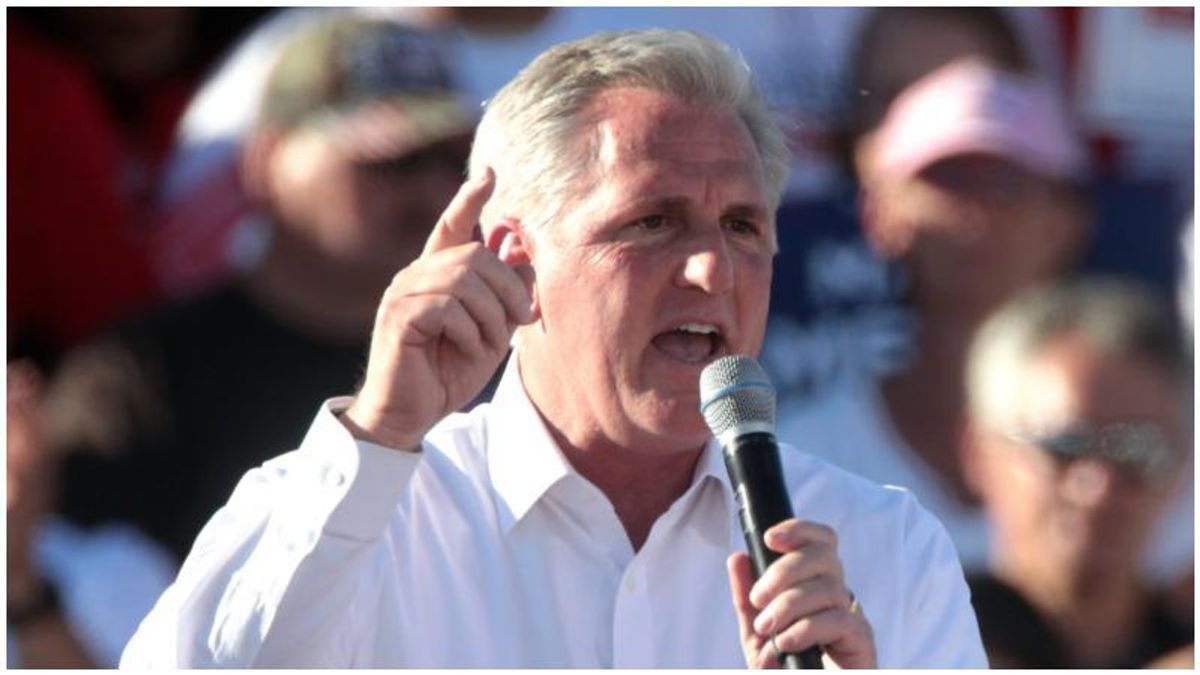 Republican Kevin McCarthy faces a big problem as he attacks Biden's programs as 'socialism'