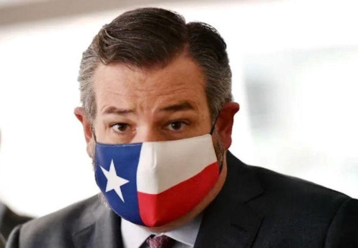 'A child froze to death': Ted Cruz smacked down after he jokes about 'awesome' Cancun vacation