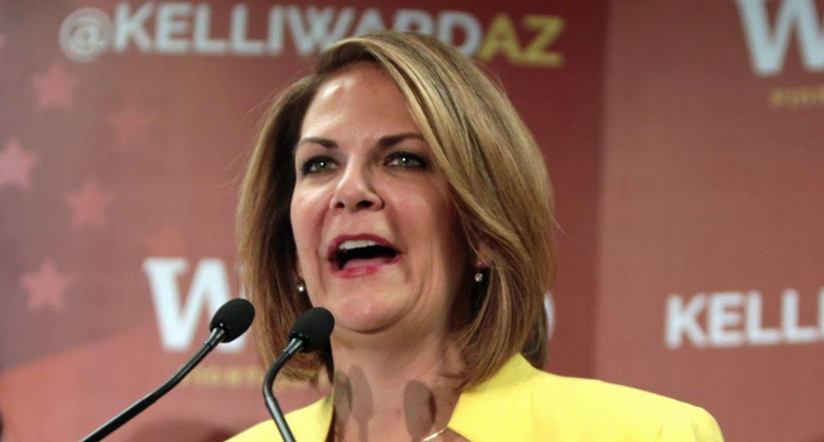 Arizona vote 'audit' sinks deeper into insanity as state GOP chair threatens her own officials with arrest