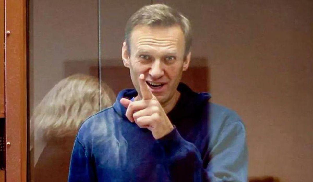 Alexei Navalny reveals his 'recipe for happiness' in prison
