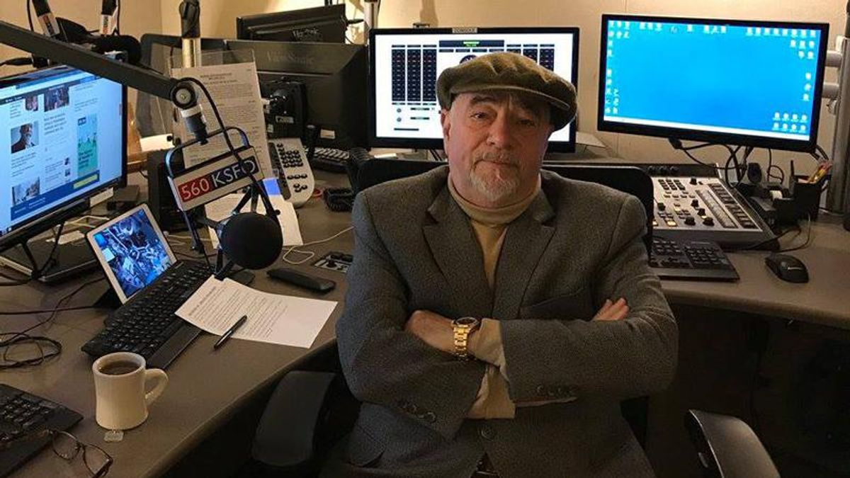 Right-wing radio host complains about hippies after Biden administration forced him out of park position