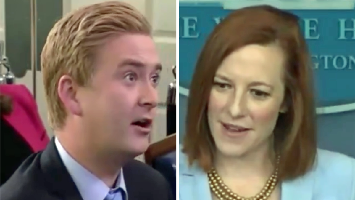 Psaki hilariously dunks on Fox News reporter after his absurd 'art of the deal' question during briefing