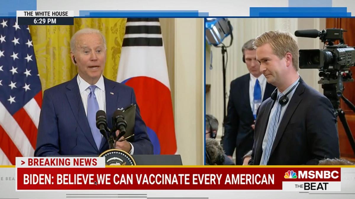 Watch Joe Biden's hilarious response when Fox News asks him about UFOs