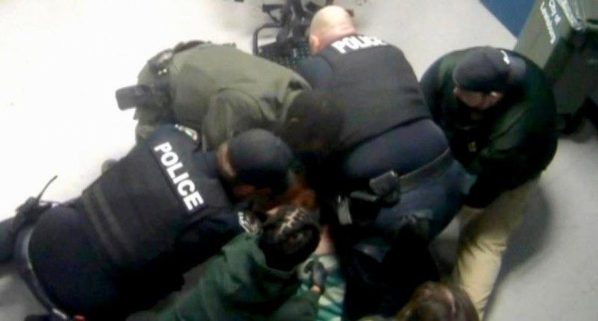 'An absolute nightmare': Video shows Tennessee officers taunted hogtied man before he died