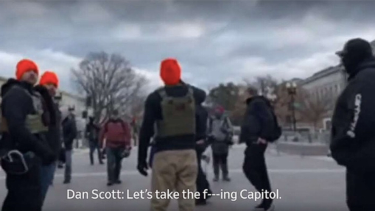 Proud Boy charged with assault following Jan. 6 Capitol breach is released on $25,000 bond