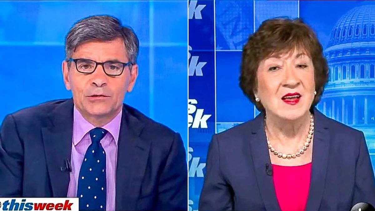 ABC host confronts 'unrealistic' Susan Collins for opposing Jan. 6 commission that she 'strongly' supports