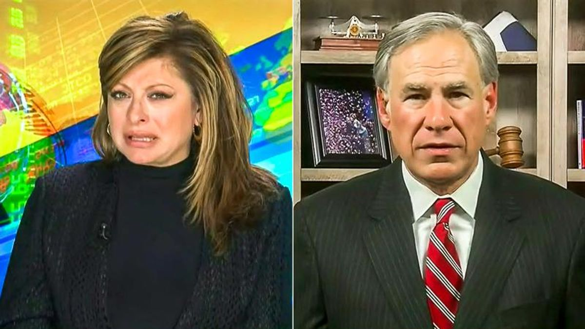 Greg Abbott: Texas voter suppression bill 'has absolutely nothing to do with the past presidential election'