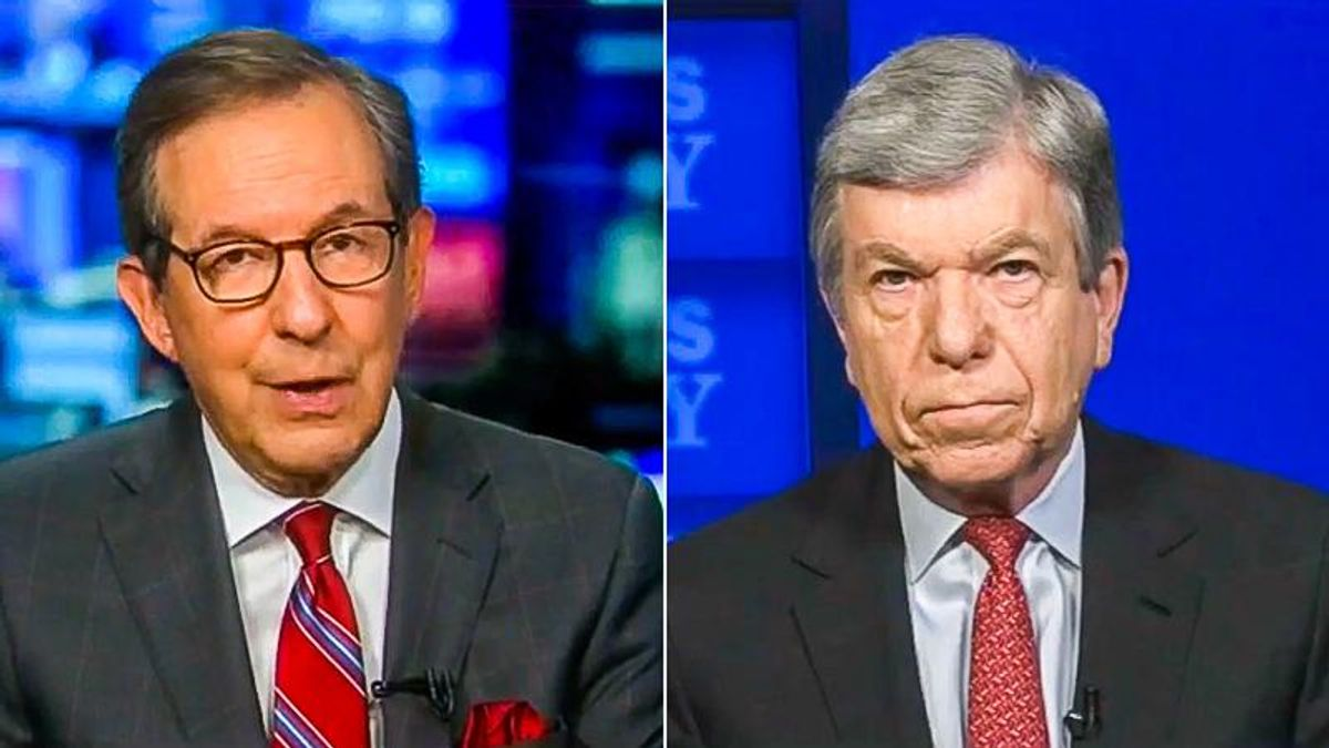 'You're putting country above party?' Chris Wallace calls out Roy Blunt's 'honesty' on Jan. 6 commission