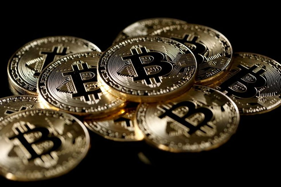 Bitcoin down almost 50% from year's high
