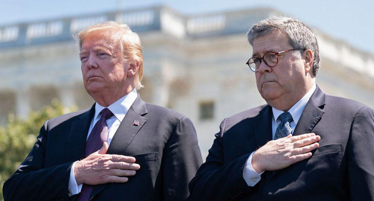 Documents about fake Bill Barr investigation of Trump obstruction of justice must legally be released Monday
