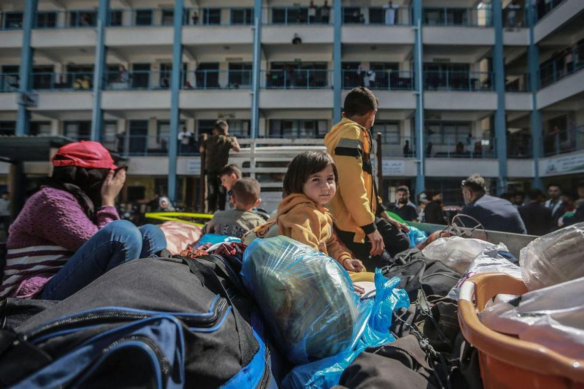 Gaza health officials fear Covid surge as tens of thousands emerge from crowded bomb shelters