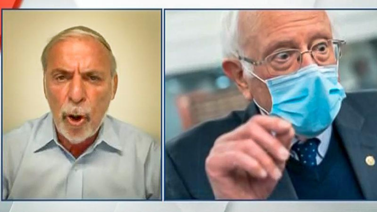 Newsmax guest lashes out at Bernie Sanders: 'With Jews like him, we go to the gas chambers'