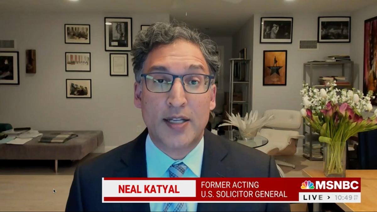 Neal Katyal slams Biden's DOJ for keeping Barr memo secret: 'Not the right call'