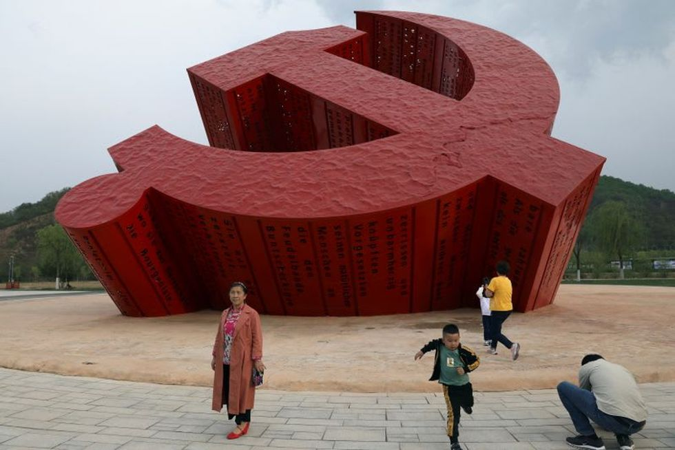 Chinese visit 'red' sites ahead of 100th Communist Party anniversary