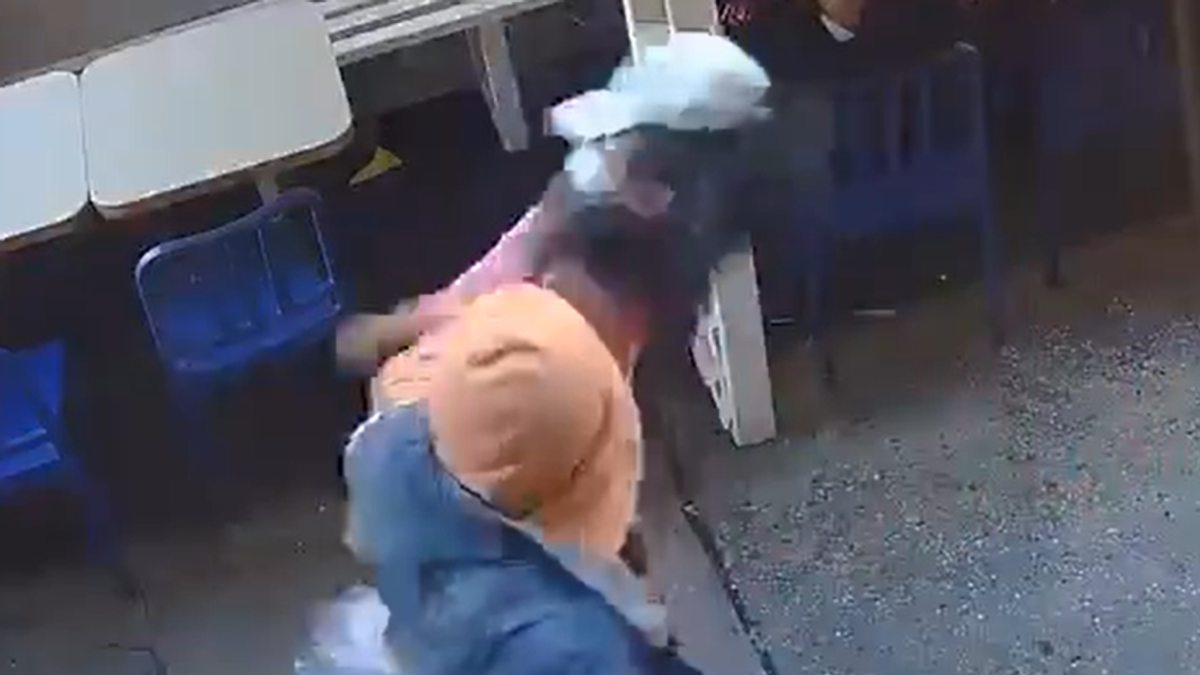 WATCH: 55-year-old Asian woman randomly punched in the face in NYC Chinatown